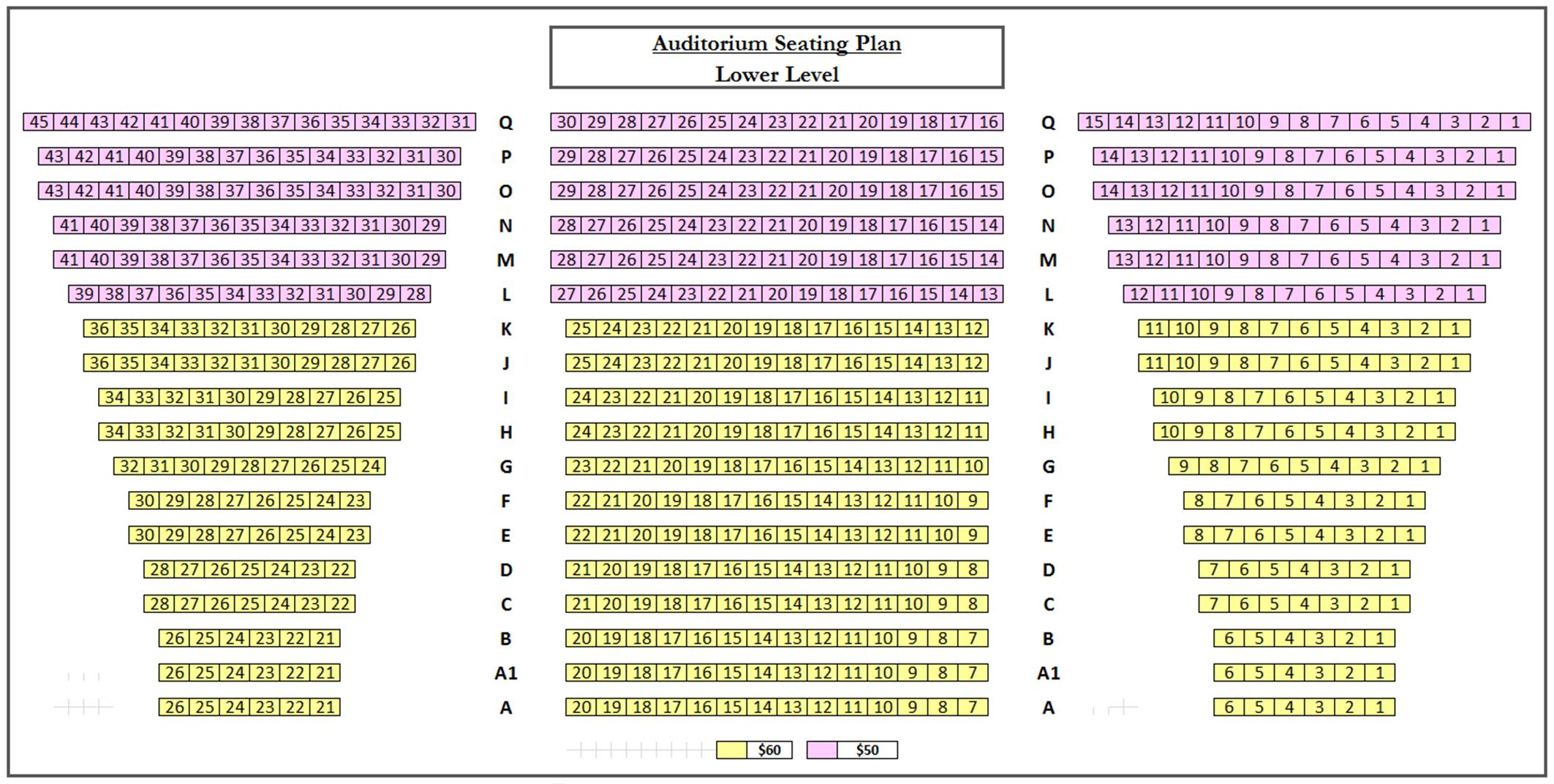 Oi Apelpismenoi Seating Plan