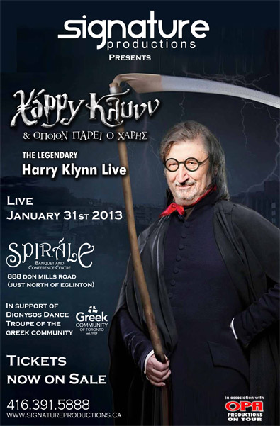 Harry Klynn Live